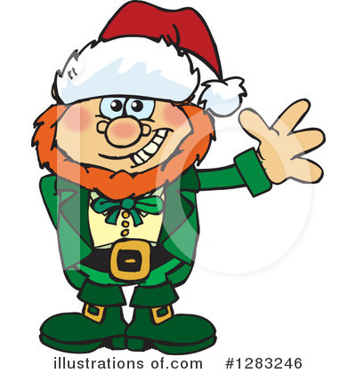 Leprechaun Clipart #1283246 by Dennis Holmes Designs