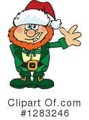 Royalty-Free (RF) Leprechaun Clipart Illustration #1283246
