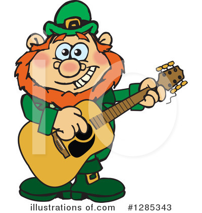 Royalty-Free (RF) Leprechaun Clipart Illustration by Dennis Holmes Designs - Stock Sample #1285343