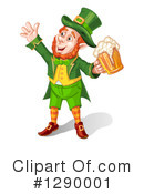 Royalty-Free (RF) Leprechaun Clipart Illustration #1290001