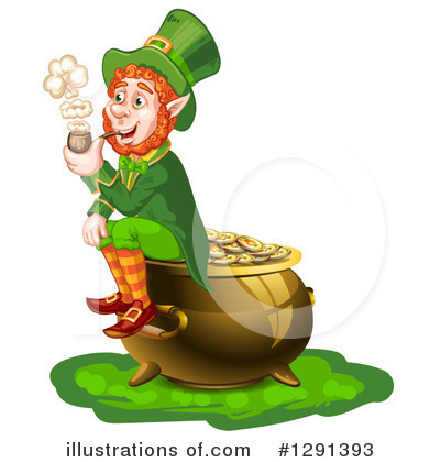 Pot Of Gold Clipart #1291393 by merlinul