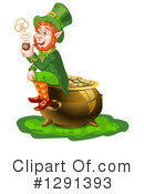 Royalty-Free (RF) Leprechaun Clipart Illustration #1291393