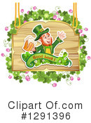 Royalty-Free (RF) Leprechaun Clipart Illustration #1291396