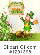 Royalty-Free (RF) Leprechaun Clipart Illustration #1291398