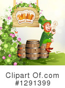 Royalty-Free (RF) Leprechaun Clipart Illustration #1291399