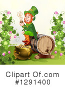 Royalty-Free (RF) Leprechaun Clipart Illustration #1291400