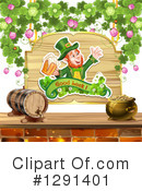 Royalty-Free (RF) Leprechaun Clipart Illustration #1291401