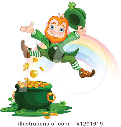 Leprechaun Clipart #1291619 by Pushkin