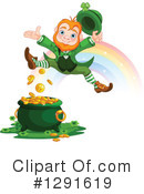 Royalty-Free (RF) Leprechaun Clipart Illustration #1291619