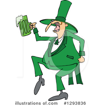 Royalty-Free (RF) Leprechaun Clipart Illustration by djart - Stock Sample #1293836