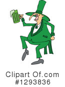 Royalty-Free (RF) Leprechaun Clipart Illustration #1293836