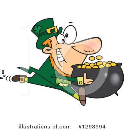 Leprechaun Clipart #1293994 by toonaday