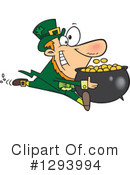 Royalty-Free (RF) Leprechaun Clipart Illustration #1293994