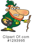Royalty-Free (RF) Leprechaun Clipart Illustration #1293995