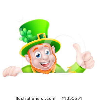 Leprechaun Clipart #1355561 by AtStockIllustration