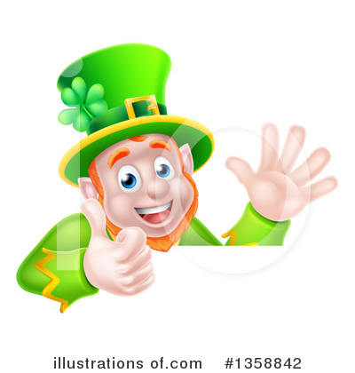 Royalty-Free (RF) Leprechaun Clipart Illustration by AtStockIllustration - Stock Sample #1358842