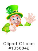 Royalty-Free (RF) Leprechaun Clipart Illustration #1358842