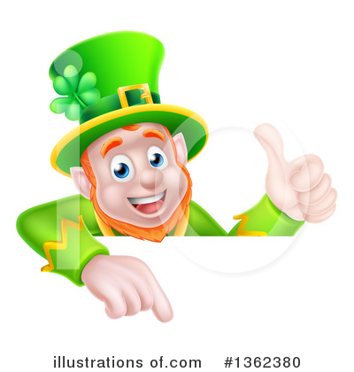 Leprechaun Clipart #1362380 by AtStockIllustration