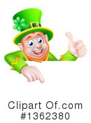 Royalty-Free (RF) Leprechaun Clipart Illustration #1362380