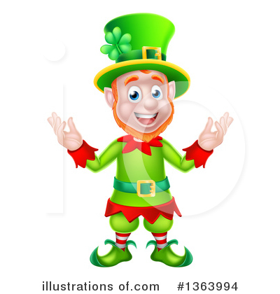 St Patricks Day Clipart #1363994 by AtStockIllustration