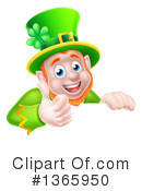 Royalty-Free (RF) Leprechaun Clipart Illustration #1365950