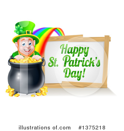 Leprechaun Clipart #1375218 by AtStockIllustration