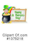 Royalty-Free (RF) Leprechaun Clipart Illustration #1375218
