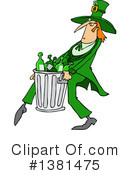 Royalty-Free (RF) Leprechaun Clipart Illustration #1381475