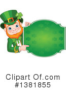 Royalty-Free (RF) Leprechaun Clipart Illustration #1381855