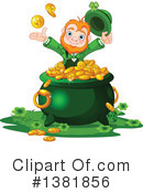 Royalty-Free (RF) Leprechaun Clipart Illustration #1381856