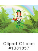 Royalty-Free (RF) Leprechaun Clipart Illustration #1381857