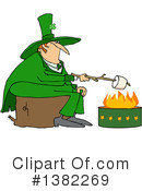 Royalty-Free (RF) Leprechaun Clipart Illustration #1382269