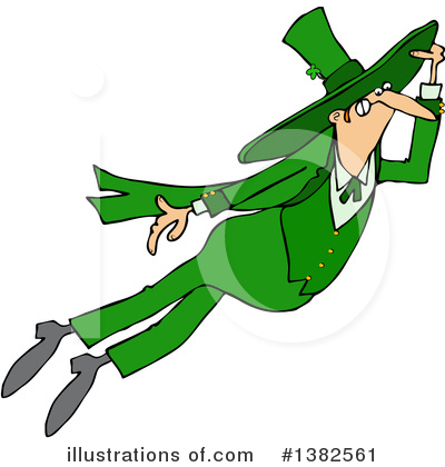 Leprechaun Clipart #1382561 by djart