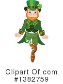 Royalty-Free (RF) Leprechaun Clipart Illustration #1382759