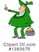 Royalty-Free (RF) Leprechaun Clipart Illustration #1383675