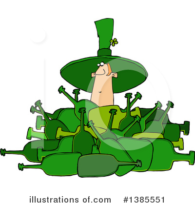 Leprechaun Clipart #1385551 by djart