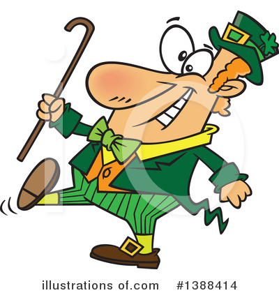 Leprechaun Clipart #1388414 by toonaday
