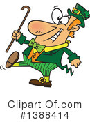 Royalty-Free (RF) Leprechaun Clipart Illustration #1388414