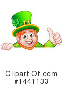 Leprechaun Clipart #1441133 by AtStockIllustration