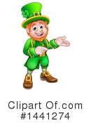 Royalty-Free (RF) Leprechaun Clipart Illustration #1441274