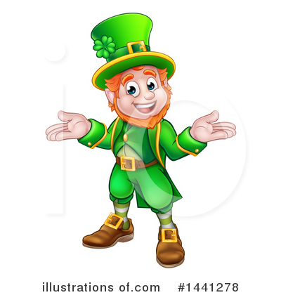 St Patricks Day Clipart #1441278 by AtStockIllustration