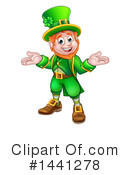 Royalty-Free (RF) Leprechaun Clipart Illustration #1441278