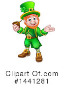 Royalty-Free (RF) Leprechaun Clipart Illustration #1441281