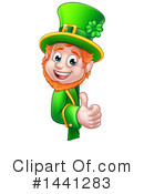 Royalty-Free (RF) Leprechaun Clipart Illustration #1441283