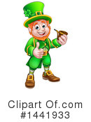 Royalty-Free (RF) Leprechaun Clipart Illustration #1441933