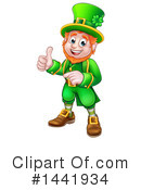 Royalty-Free (RF) Leprechaun Clipart Illustration #1441934