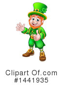 Royalty-Free (RF) Leprechaun Clipart Illustration #1441935