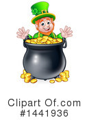Royalty-Free (RF) Leprechaun Clipart Illustration #1441936