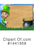 Royalty-Free (RF) Leprechaun Clipart Illustration #1441958