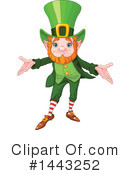 Royalty-Free (RF) Leprechaun Clipart Illustration #1443252